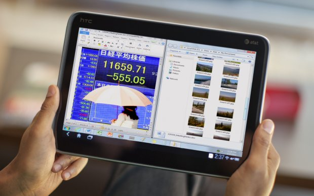 Tablet com Android ganha cara e funcionalidade de Windows com app (Foto: Divulgação)