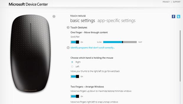 Aplicativo promete facilitar a vida de quem testa o Windows 8 sem uma tela touch (Foto: Reprodução)