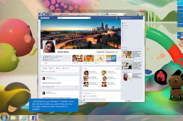 Site valoriza recursos e foco na segurança do Internet Explorer 9 (Foto: Reprodução)