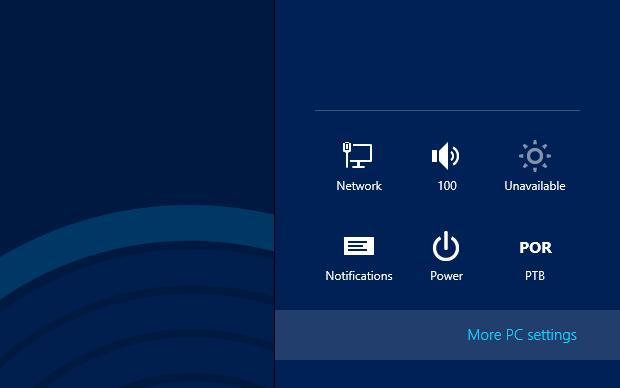Acessando o Painel de Controle imersivo do Windows 8 (Foto: Reprodução/Helito Bijora) (Foto: Acessando o Painel de Controle imersivo do Windows 8 (Foto: Reprodução/Helito Bijora))
