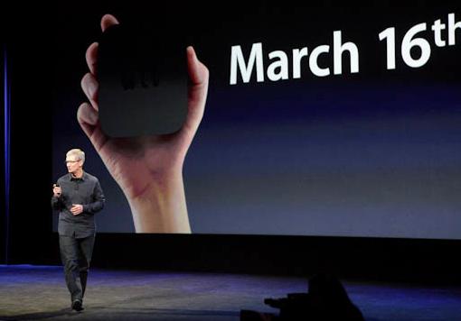 Novo AppleTV chega ao mercado dia 16 de março, junto com o novo iPad (Foto: Reprodução/CNet)