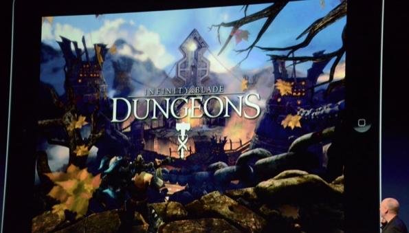 Infinity Blade Dungeons, da Epic Games, aproveitará recursos da nova tela Retina (Foto: Reprodução/The Verge)