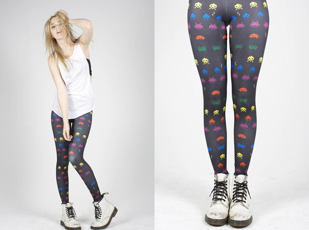 Space Invaders é uma das principais inspirações para o mundo da moda. (Foto: Reprodução)