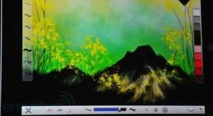 Sketchbook Ink, para o Novo iPad (Foto: Reprodução/Engadget)