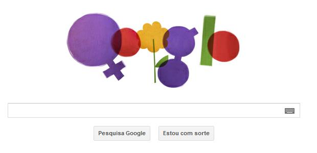 Google comemora o Dia Internacional da Mulher (Foto: Reprodução)
