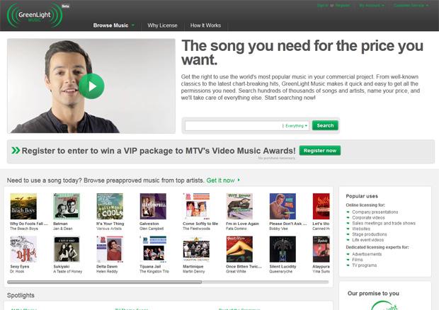 Empresa visa facilitar o processo de compra de licenças musicais (Foto: Reprodução)