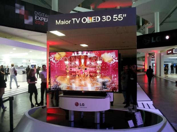 TV OLED 3D LG EM9600 (Foto: Eduardo Moreira/TechTudo)