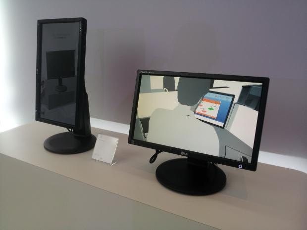 Nova linha de monitores da LG é apresentada na Digital Experience 2012 (Foto: Eduardo Moreira/TechTudo) (Foto: Nova linha de monitores da LG é apresentada na Digital Experience 2012 (Foto: Eduardo Moreira/TechTudo))