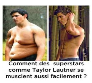 """Fotos suspeitas mostram o """"antes e depois"""" de Taylor Lautner (Foto: Reprodução)"""