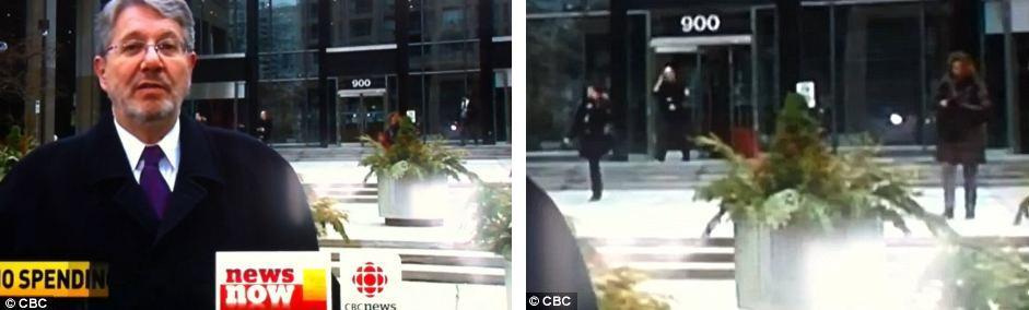 Mulher cai na rua e vira hit na Internet (Foto: Reprodução)