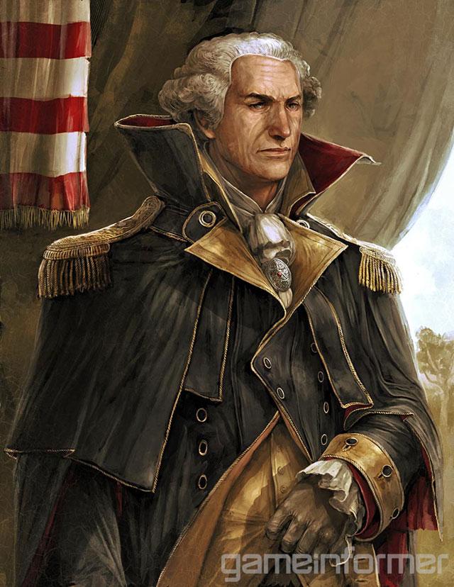 E não poderia faltar George Washington (Imagem: Divulgação)