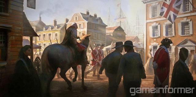 Será um desafio para os assassinos se esconderem em uma cidade colonial (Imagem: Divulgação)