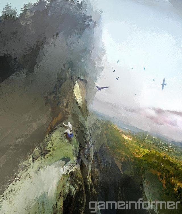 Escalar montanhas e atravessar florestas fará parte do cotidiano de Connor (Imagem: Divulgação)