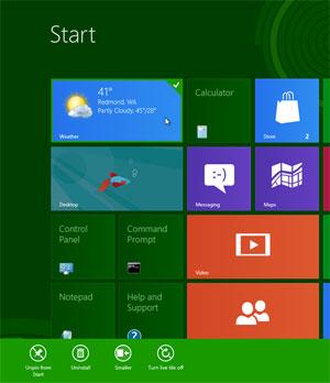 No site de Mike Bibik estão sugestões e críticas pesadas ao Windows 8 e sua interface Metro (Foto: Reprodução)