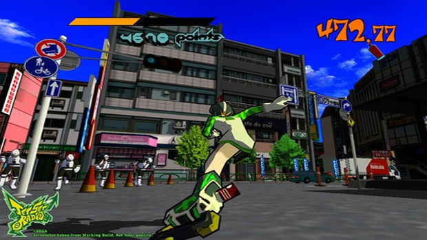Jet Set Radio HD (Foto: Joystiq) (Foto: Jet Set Radio HD (Foto: Joystiq))