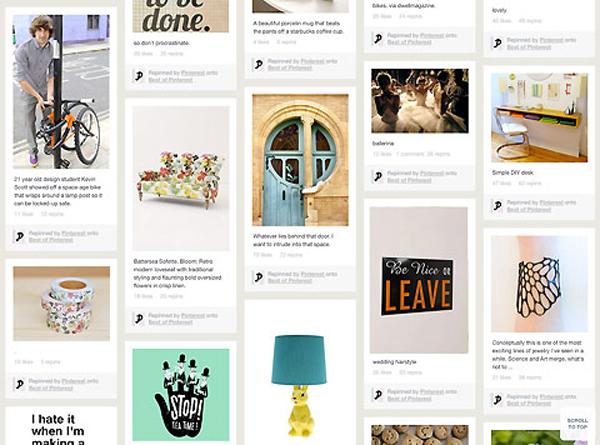 Página do Pinterest vai ganhar novo visual (Foto: Reprodução)