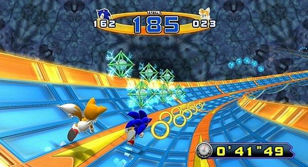 Fase bônus de Sonic the Hedgehog 4: Episode 2 (Foto: Divulgação)