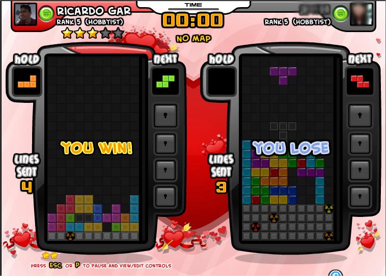 Dicas para Tetris Battle do Facebook