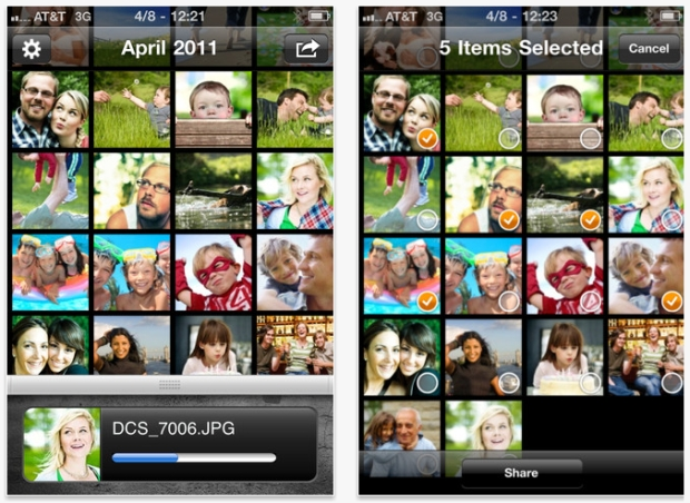 Eye-Fi permite o compartilhamento de imagens da câmera digital para dispositivos móveis (Foto: Reprodução/iTunes)