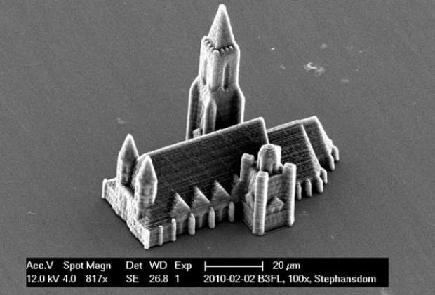 A Catedral de St. Stephen foi nano homenageada (Foto: Divulgação/Universidade de Tecnologia de Viena)