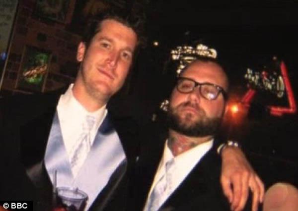 Gary Hart (esquerda) com o amigo falecido Jack Froese (direita) (Foto: Reprodução)