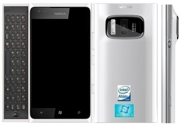 Render do conceito do Nokia Lumia 1000 (Foto: Reprodução/Phone Arena)