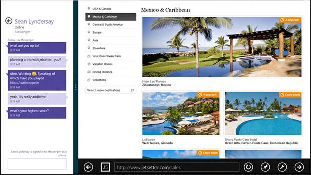 Internet Explorer 10 tem bom nível de integração com o restante do Windows 8 (Foto: Reprodução/IEBlog)