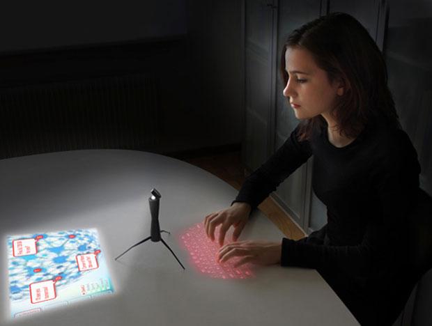 Aparelho que converge laptop, celular e TV cabe dentro do seu bolso (Foto: Reprodução/Yanko Design)