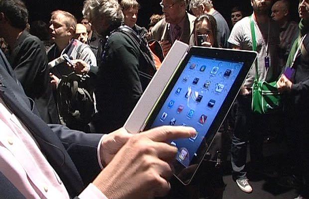 Novo iPad está batendo recorde atrás de recorde (Foto: Divulgação)