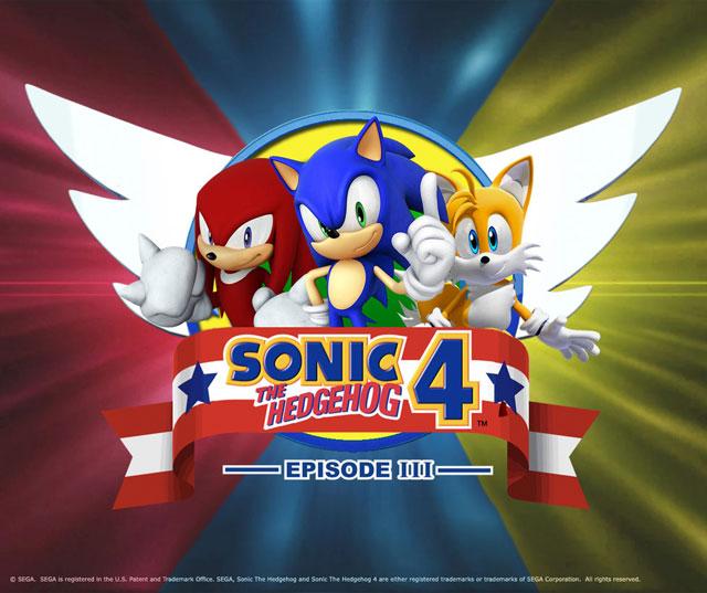 Sonic 4 Episode II chama a atenção por reunir outros personagens famosos da franquia (Imagem: Divulgação)