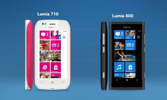 Preços dos Nokia Luma 710 e 800 são divulgados em coletiva da Nokia (Foto: Reprodução/Nokia)