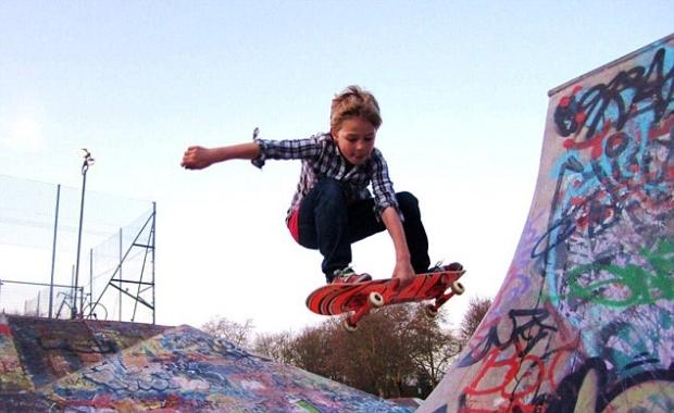Sucesso no YouTube com manobras de Skate (Foto: Divulgação)