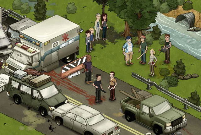 Divulgação do jogo coincidiu com o final da segunda temporada do seriado (Imagem: Divulgação)