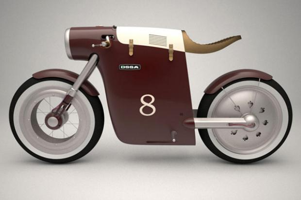 OSSA Monocasco Electric Bike (Foto: Divulgação/ART-TIC Team)