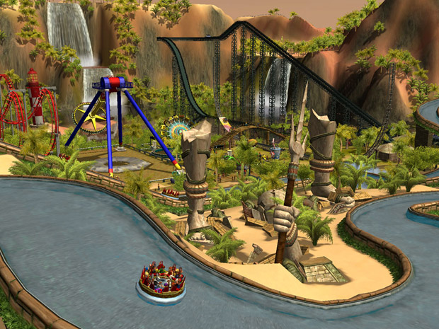 RollerCoasterTycoon3DS (Foto: RollerCoasterTycoon3DS)