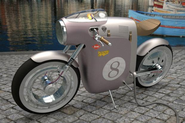OSSA Monocasco Electric Bike