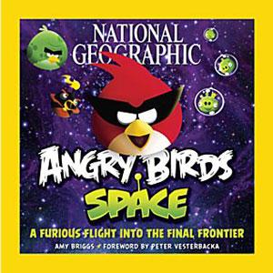 A capa da edição especial da National Geographic sobre Angry Birds Space (Imagem: Divulgação)