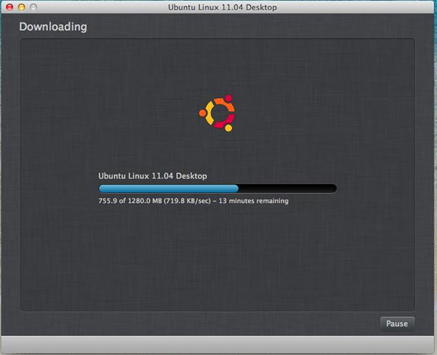 Download do Ubuntu.