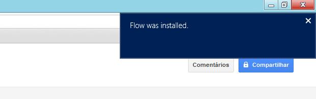 Exemplo de notificação do Windows 8 (Foto: Reprodução/Helito Bijora)