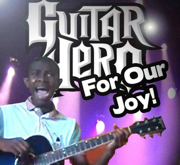 Você compraria essa nova versão do Guitar Hero? (Foto: Reprodução) (Foto: Você compraria essa nova versão do Guitar Hero? (Foto: Reprodução))