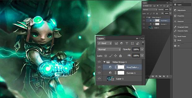 Com conhecimento básico em Photoshop é possível editar vídeos  (Foto: Reprodução)