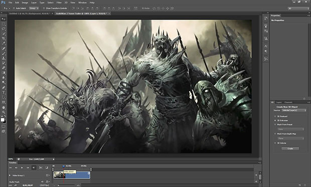 Redesign da área de trabalho do Photoshop CS6 (Foto:  (Foto: Reprodução))