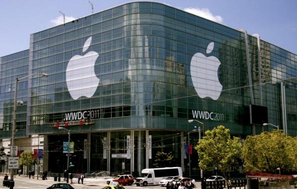 Centro de Conferências durante a WWDC 2011 (Divulgação)
