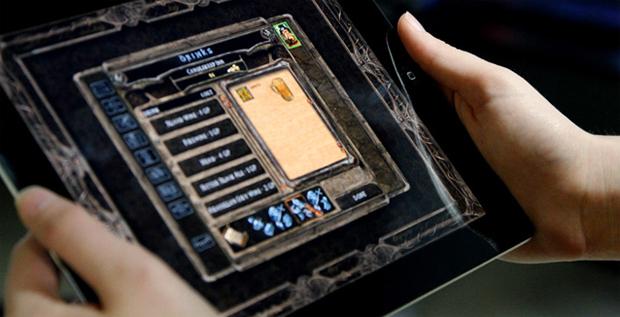 Baldur's Gate no iPad (Foto: Reprodução)