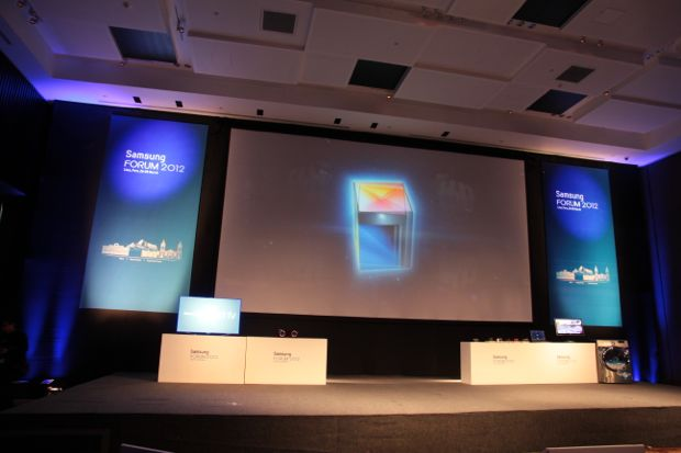 Samsung Fórum 2012 (Foto: Nick Ellis/TechTudo)