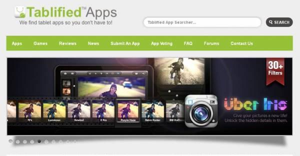 """Tablified é uma """"mão na roda"""" para usuários de tablets com Android (Foto: Reprodução)"""