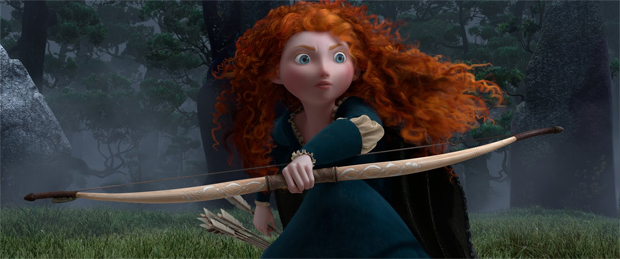 Princesa Merinda é a heroína de Valente (Foto: Divulgação)