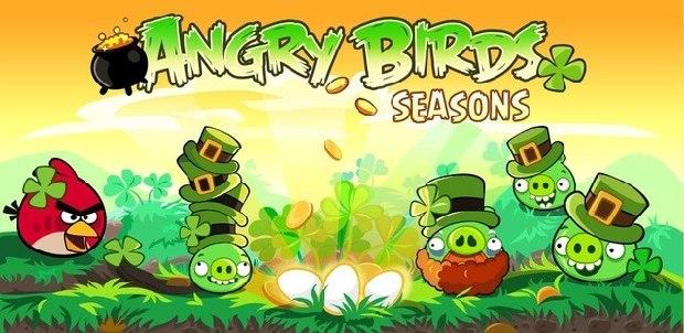 Angry Birds Seasons comemora o St. Patricks Day (Foto: Divulgação) (Foto: Angry Birds Seasons comemora o St. Patricks Day (Foto: Divulgação))