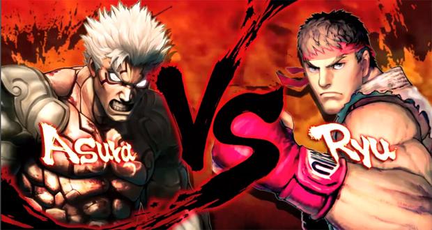 Asura's Wrath e Street Fighter (Foto: Divulgação)