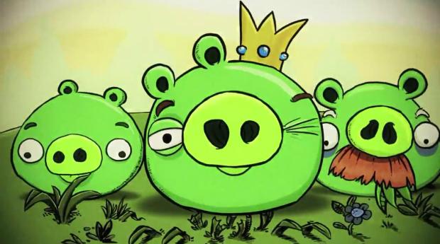Os porcos verdes são os antagonistas (Foto: Reprodução/Bruno do Amaral)